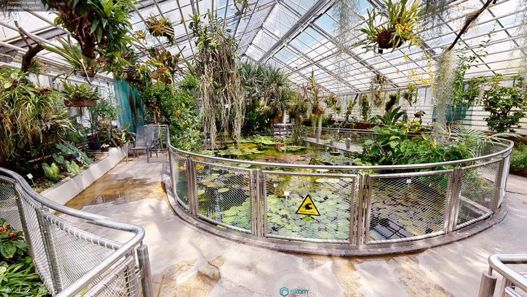 Botanischer Garten Piranhabecken