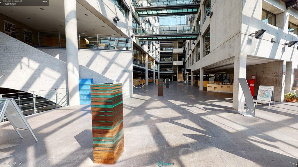 Thüringer Universitäts- und Landesbibliothek Foyer