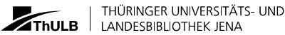 Logo Thüringer Universitäts und Landesbibliothek