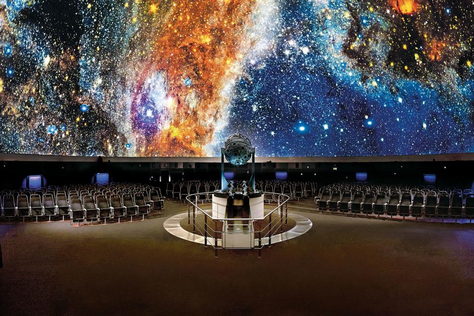 Carl-Zeiss-Planetarium Jena Innenraum