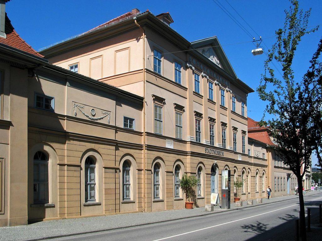 Außenansicht Stadtmuseum Weimar